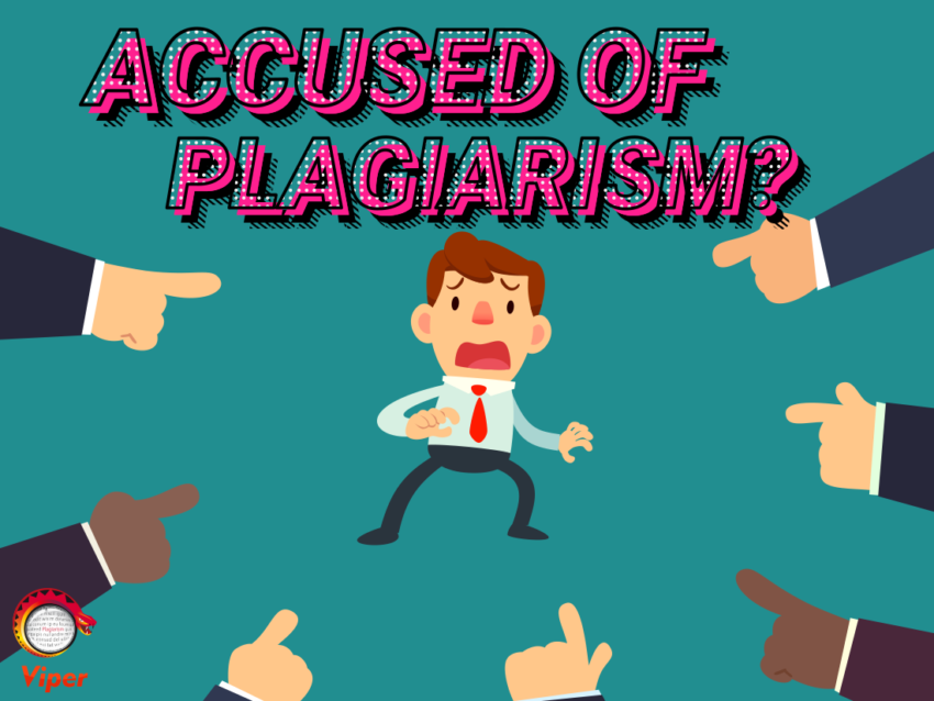 Accused of plagiarism?